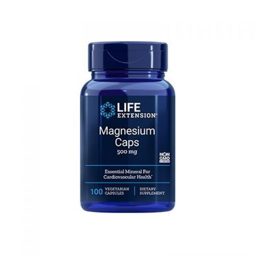 Life Extension - Magnezijeve kapsule, 500mg, 100 veg kapsul