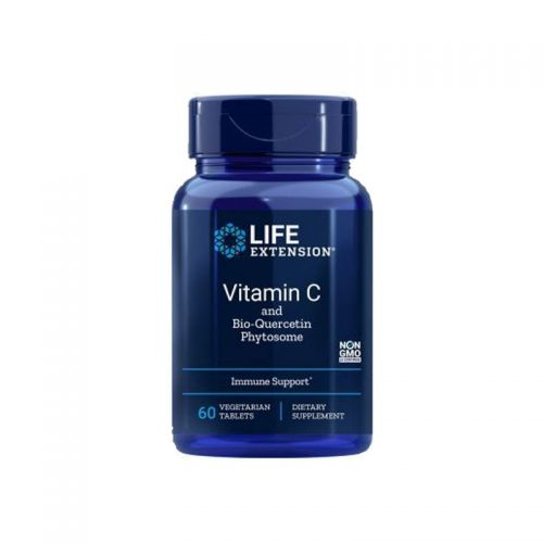 Life Extension - Vitamin C in Bio Kvercetin Fitosom, 60 veg tbl