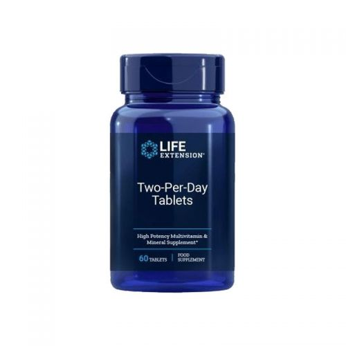 Life Extension - Two-Per-Day, vitamini in minerali, 60 tablet
