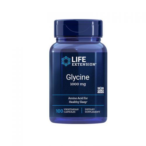 Life Extension Glicin 1000mg, 100 kapsul