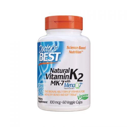Doctor's Best Naravni vitaminK2 MK7 z MenaQ7®