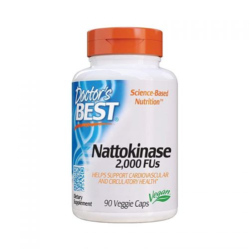 Doctor's BestNattokinaza (Nattokinase), 2000 FU, 90 kapsul