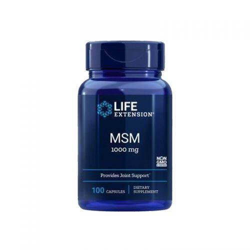 Life Extension - MSM, 1000mg, 100 kapsul