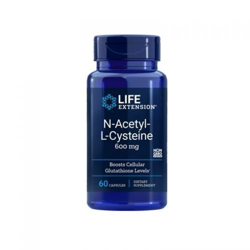 Life Extension - N-Acetil-L-Cistein, 600mg, 60 vegetarijanskih kapsul