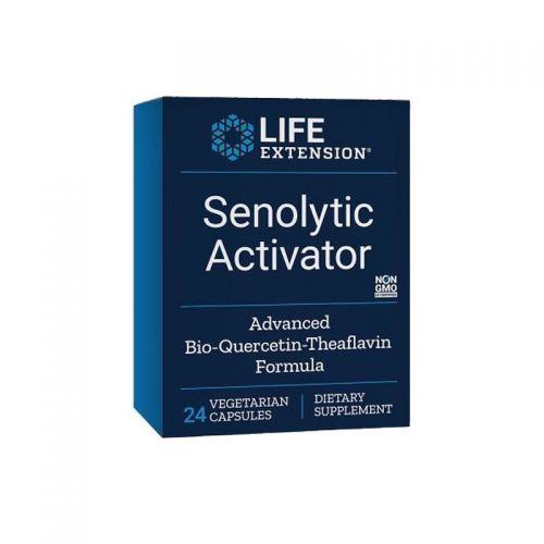 Life Extension - Senolitični aktivator, 24 vegetarijanskih kapsul - boj proti starajočim se celicam in staranju