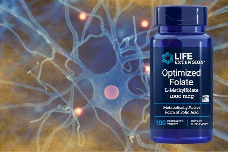 Life Extension Optimiziran folat (L-metilfolat)